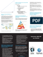 Brochure Soluciones IBM ERP as a Service CHI