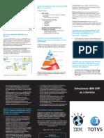 Brochure Soluciones IBM ERP as a Service CHI