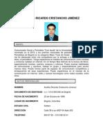 Hoja de Vida Andres Ricardo