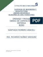 REPORTE DE OBRAS DE CAPTACIÓN EXPOSICIÓN