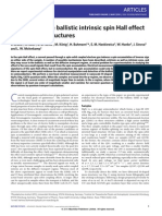 C. Brüne et al- Evidence for the ballistic intrinsic spin Hall effect in HgTe nanostructures