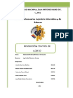 Auditoria Control de Acceso