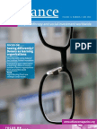 Seeing Differently - Donors as Learning Organisations - Alliance 2006