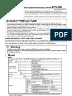 ECS-200 Manual E4