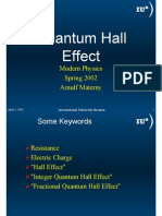 Arnulf Materny- Quantum Hall Effect
