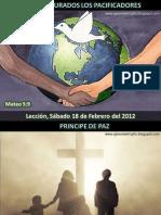 Lección 07 - Bienaventurados los pacificadores