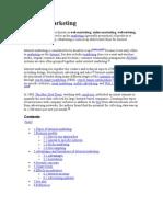 Internet Marketing Wikepedia