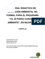 Cartilla de Educacion Ambiental