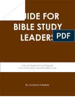 Guide for Bible Study Leaders