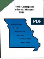Basketball Champions of SW Missouri 1984