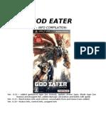 GOD EATER 0.12