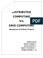 Report Distributed Computing