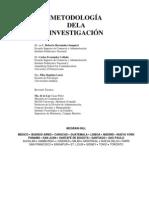 Metodología de la investigación. Hernández Sampieri