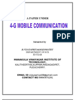 4G-MOBILECOMMUNICATION
