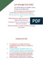 Long-Run Average Cost (LAC)