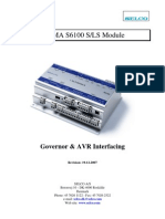 (Niam)S6100 Governor and AVR Interfacing UK PDF