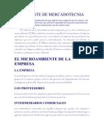 AMBIENTE DE MERCADOTECNIA