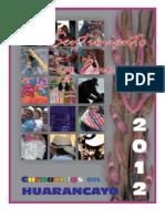 Programa General de Carnavales en Huarancayo 2012