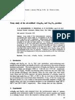 1980 X-Ray Study of the Air-oxidised a-Ga~_Se8 and Ga._tea Powders