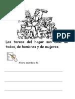 Las Tareas Del Hogar Fichas