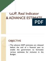 Gdp Advance Estimate