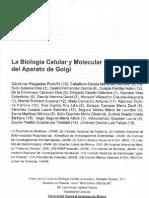 La Biologia Celular Del Aparato de Golgi