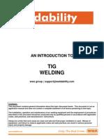 Intro TIG Welding