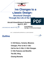 C-130 Structural Changes Through Its Life