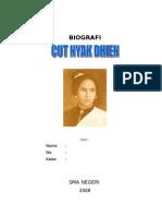 Biografi Cut Nyak Dien