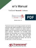 RecoveRx Users Manual en Win