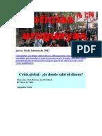Noticias Uruguayas martes 14 de Febrero de 2012