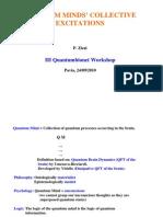 P. Zizzi- Quantum Mind's Collective Excitations