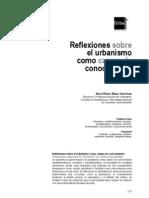 Reflexiones Sobre El Urbanismo