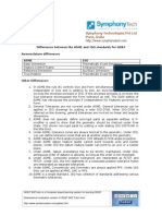 ASME - IsO GD&T Standard Differences