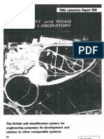 TRRL - British Soil Classification System