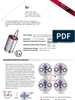 Micro Flow Meter Datasheet