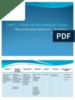 TWO – YEAR DEVELOPMENT PLAN
