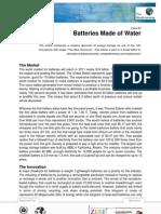 Case60 Batteries of Water En