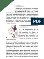 Programa PSOE