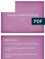 Badjaos and Tausugs Wow