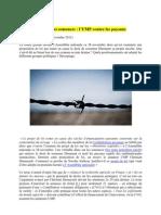 Taxe Sur Les Semences - l'UMP Contre Les Paysans - Privatisation Du Vivant