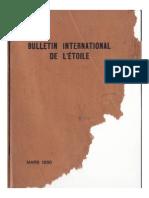 Bulletin International de L'Étoile N°6 Mars 1930 par J. Krishnamurti