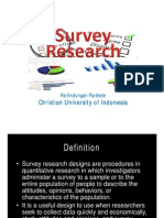 Survey Research for Elt