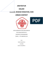 Essay UAS Studi Dasar Arsitektur 1 UNTAR 2011 (Masjid Al-Irsyad)