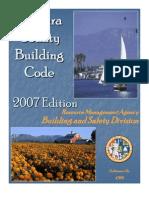 Ventura County Building Code 2007
