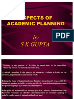 Acadmic Planning