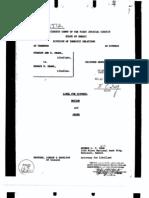Divorce Decree for Stanley Ann D. Obama and Barack H. Obama