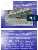 OSHA Conveyor Standards