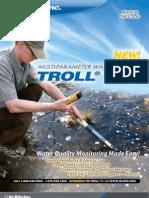 Catálogo Clean - medidor paramétrico água TROLL9500