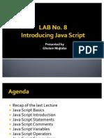 Introducing Java Script